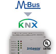M-BUS to KNX TP Gateway - 60 devices
