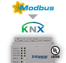 Modbus TCP & RTU Master to KNX TP Gateway - 250 points