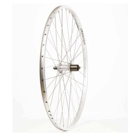 Wheel Shop, Alex DM18 Argent/ Shimano Acera FH-T3000, Roue, Arriere, 700C / 622, Trous: 36, QR, 135mm, Sur jante, Shimano HG