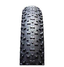 Vee Rubber, SnowShoe XL Cloute, Pneu, 26''x4.80, Pliable, Tringle, Silica, 120TPI, Noir