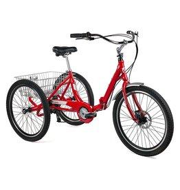 EVO, Latitude AL 8, Tricycle adulte, Rouge