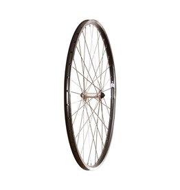 WHEEL SHOP Wheel Shop, Evo Tour 19 Noir/ Formula FM-21-QR, Roue, Avant, 700C / 622, Trous: 36, QR, 100mm, Sur jante