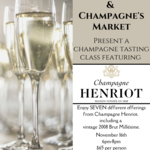 Champagne Tasting with Champagne Henriot