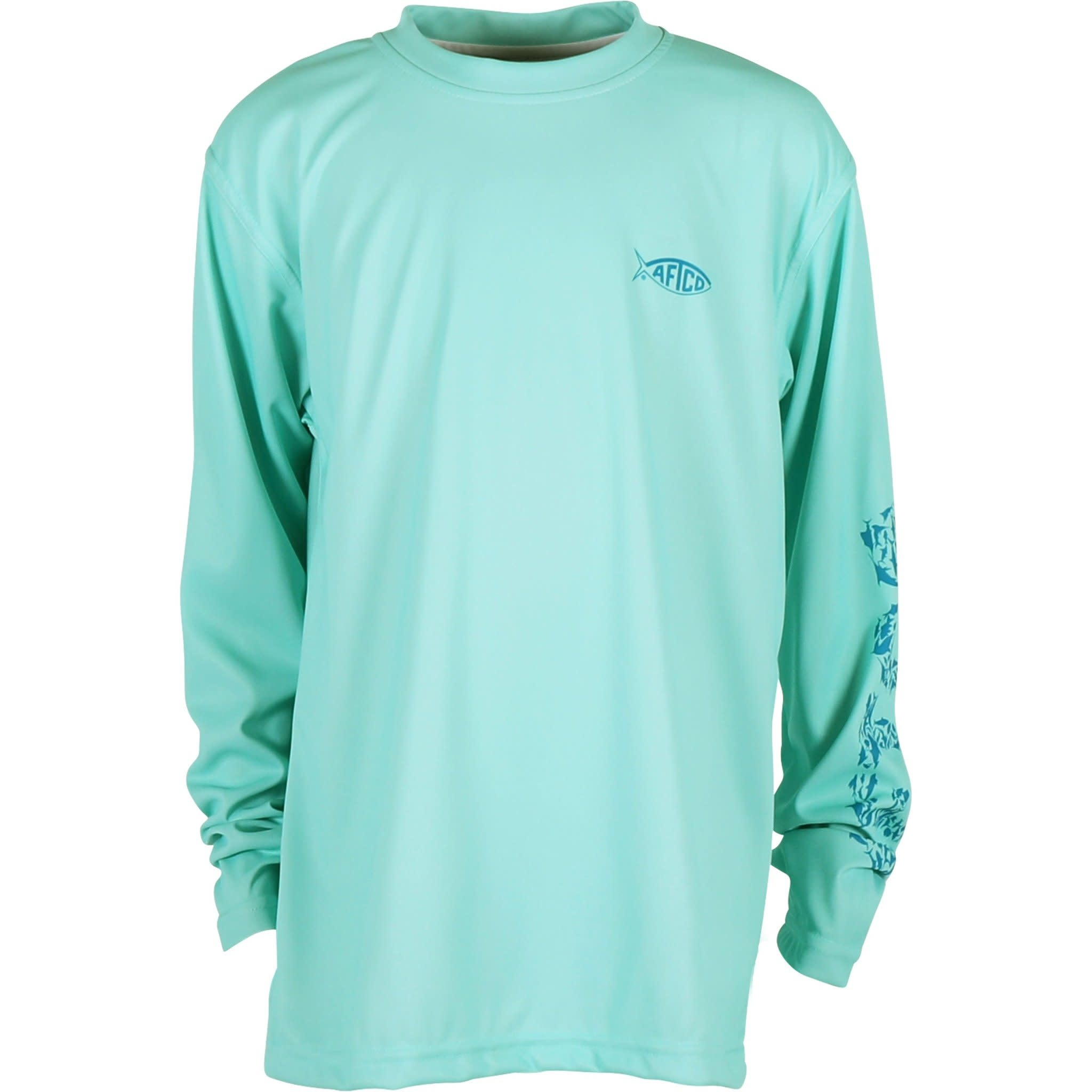 AFTCO Youth Red Alert LS Performance Shirt