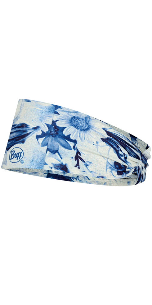 Buff Headwear Buff CoolNet UV Ellipse Headband Delft Multi
