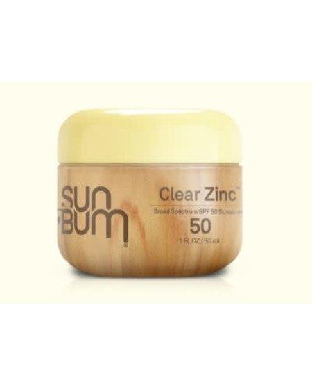 Sun Bum ORIGINAL SPF 50 CLEAR ZINC OXIDE 1 oz