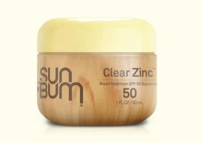 SUN BUM Sun Bum ORIGINAL SPF 50 CLEAR ZINC OXIDE 1 oz