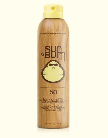 SUN BUM Sun Bum ORIGINAL SPF 50 SUNSCREEN SPRAY 6 oz