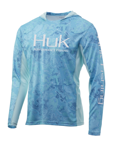 Huk ICON X CURRENT CAMO L/S