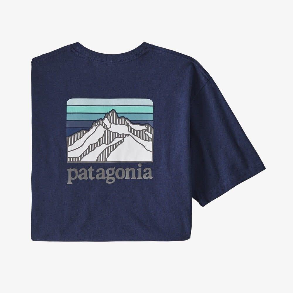 Patagonia Patagonia M's Line Logo Ridge Pocket Responsibili-Tee