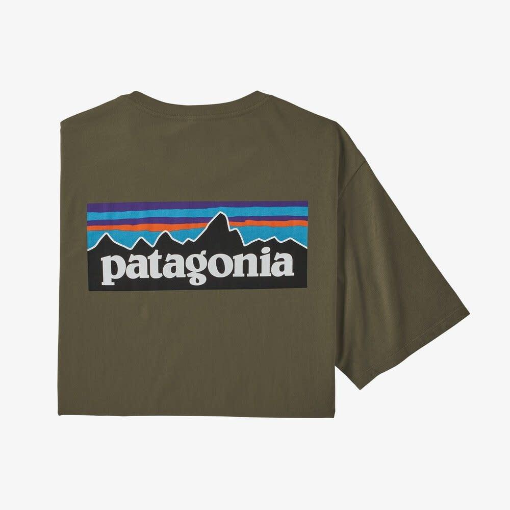 Patagonia Men's P-6 Logo Organic Cotton T-Shirt -