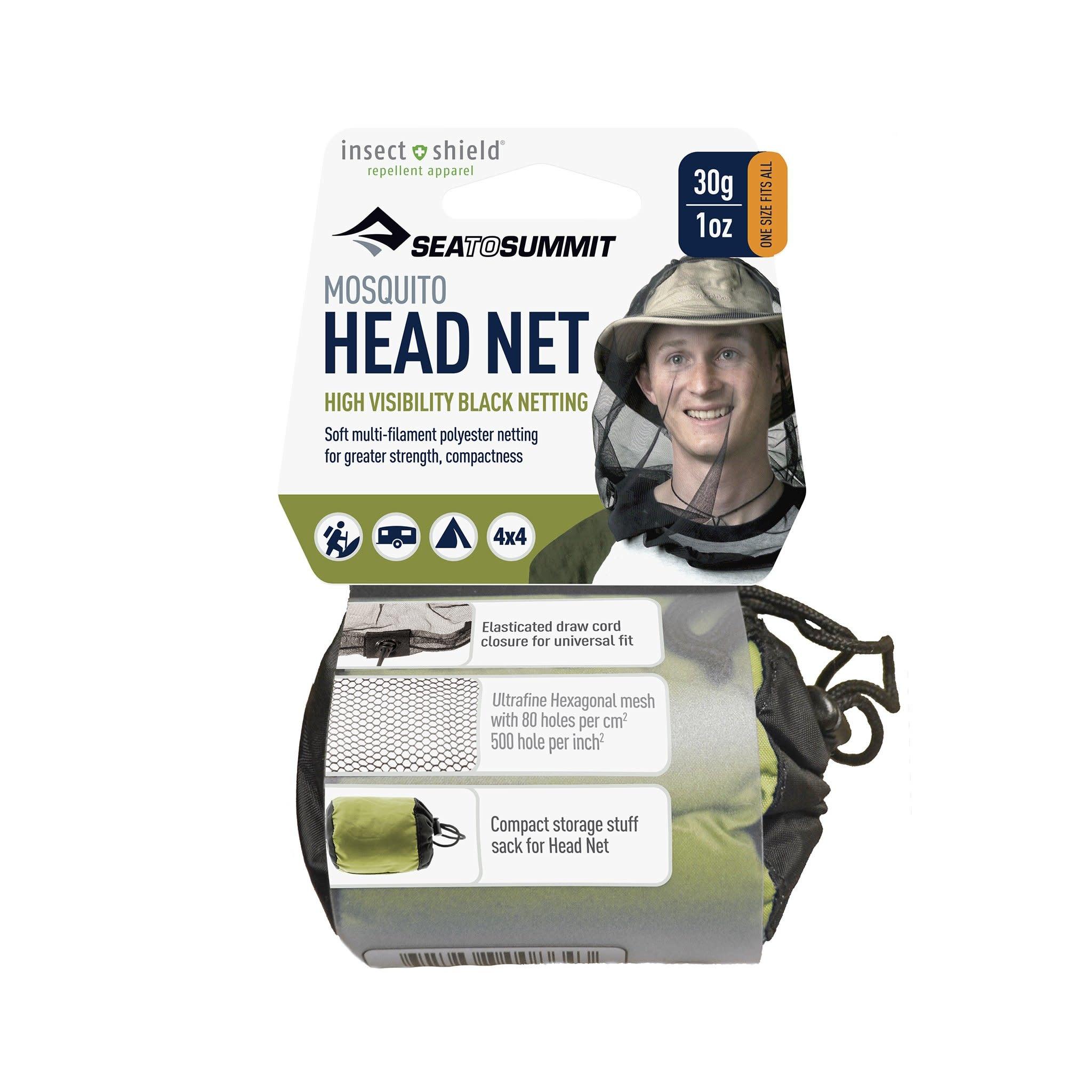 Sea to Summit HEAD NET w/ INSECTSHIELD