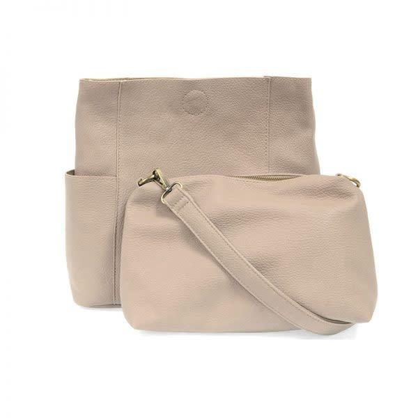 Joy Susan KAYLEIGH SIDE POCKET BUCKET BAG