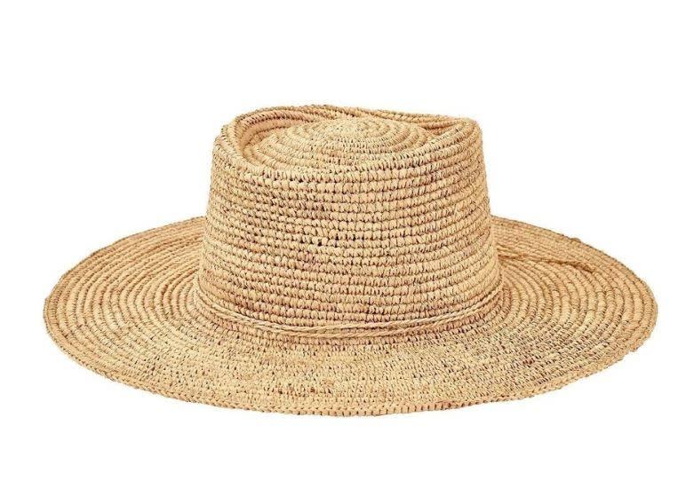 San Diego Hat Co. SDH WOMENS OVAL CROWN RAFFIA
