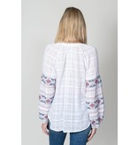 Dylan TALA EMBROIDERY TOP -