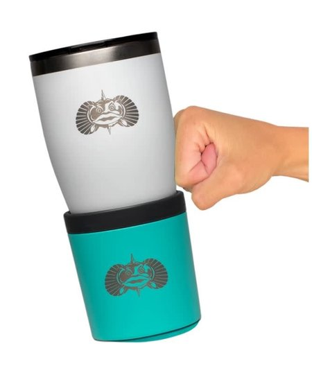 Toadfish Anchor Non-tipping Any-beverage Holder - Teal