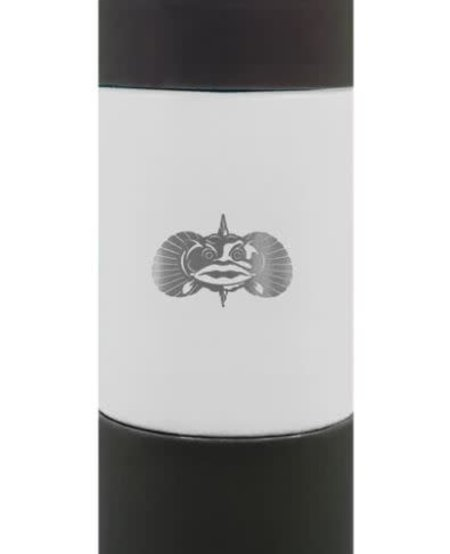 Toadfish Non-tipping SLIM CAN Cooler - White