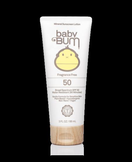 Sun Bum BABY BUM SPF 50 MINERAL SUNSCREEN  LOTION 3 oz