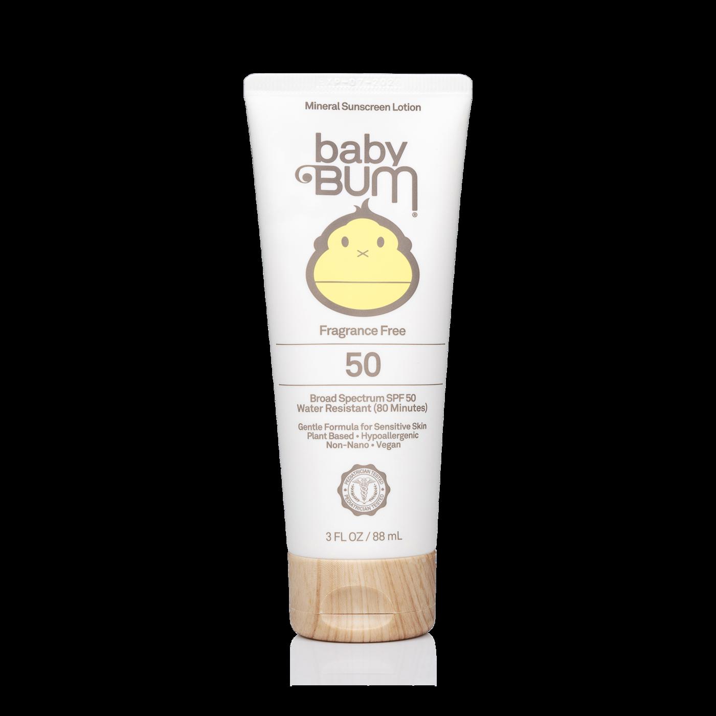 SUN BUM Sun Bum BABY BUM SPF 50 MINERAL SUNSCREEN  LOTION 3 oz