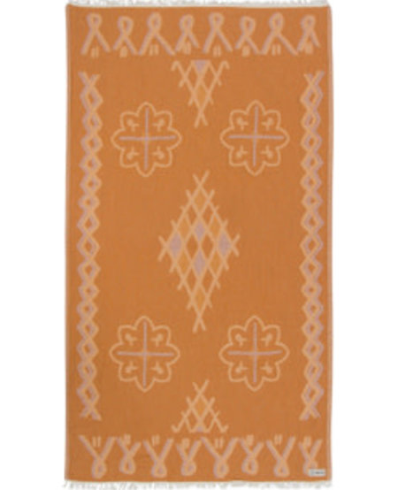 Sand Cloud Honey Stamped Moroccan Towel