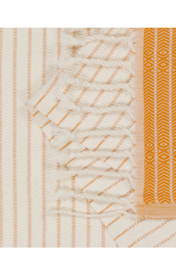 Sand Cloud Microstripe Diamond Dobby Towel