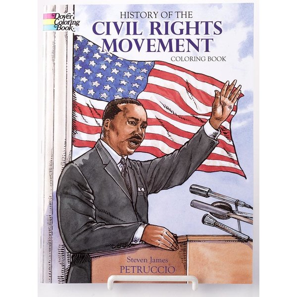 Just for Kids History of the Civil Rights Movement Coloring Book by Steven James Petruccio PB