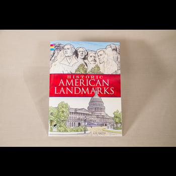 Just for Kids Historic American Landmark Coloring Book PB