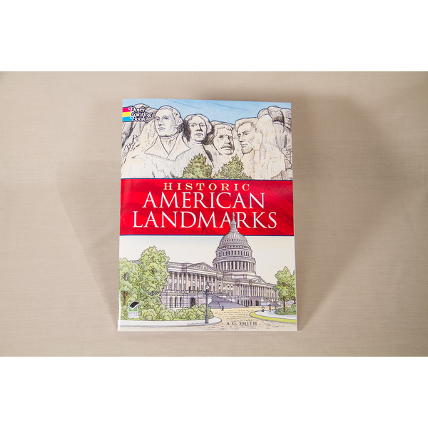 Just for Kids Historic American Landmarks Coloring Book by A. G. Smith PB