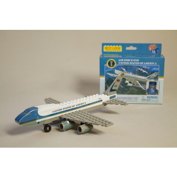Just for Kids Air Force One Constructor Brick Toy