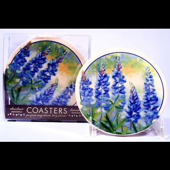 Austin & Texas Bluebonnet Coasters Set of 4