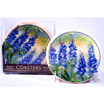 Austin & Texas Bluebonnet Coaster Single