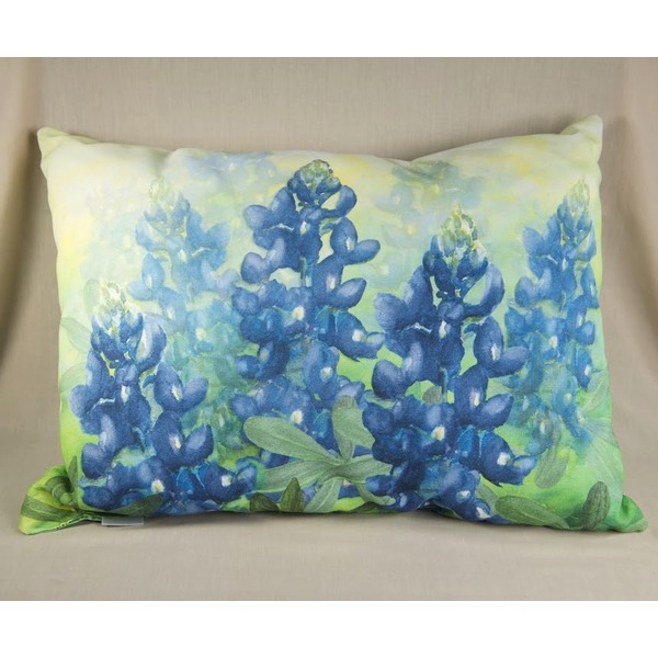 Austin & Texas Bluebonnet Pillow Rect In/Out