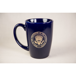 All the Way with LBJ LBJ Presidential Seal Navy Mug