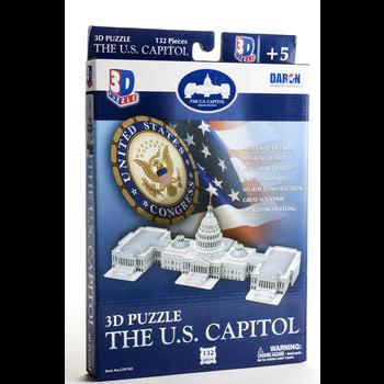 Americana US Capitol Bldg 3D Puzzle