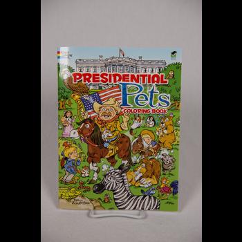 Sale Sale-Presidential Pets Coloring Book PB