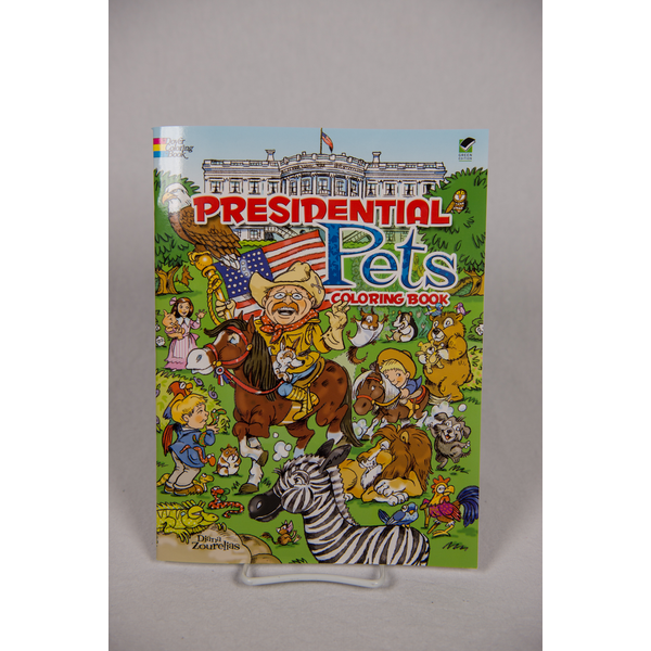 Sale Sale-Presidential Pets Coloring Book PB