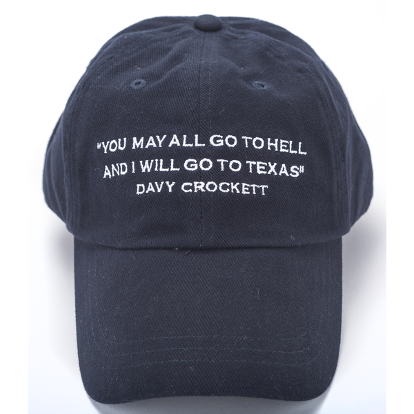 Austin & Texas Davy Crockett Cap