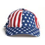 Americana USA Flag Kids Baseball Cap