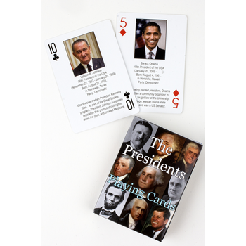 Sale Sale-Presidents Playing Cards 2017