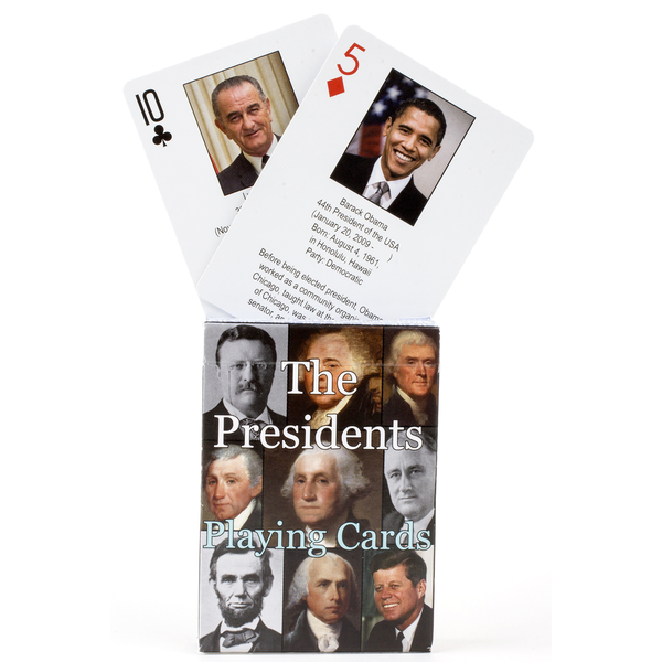 Sale Sale-Presidents Playing Cards