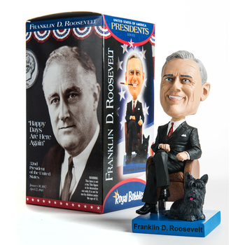 Americana Franklin Roosevelt Bobblehead