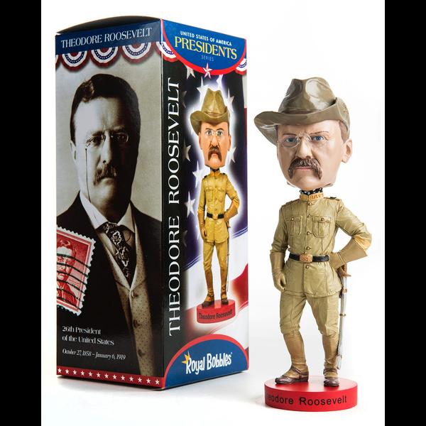 Americana Theodore Roosevelt Bobblehead