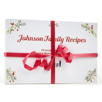 Holiday Johnson Family Recipe Cards - Set 20