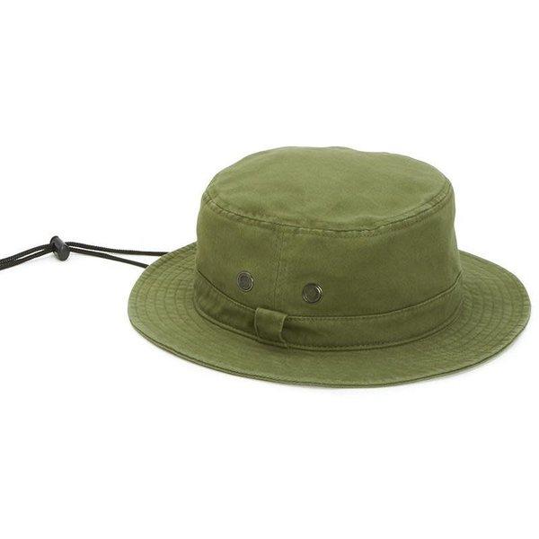 Sale sale-Cotton Bucket Hat Olive L/XL