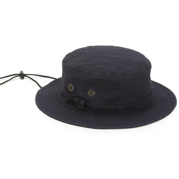 Sale sale-Cotton Bucket Hat Navy L/XL