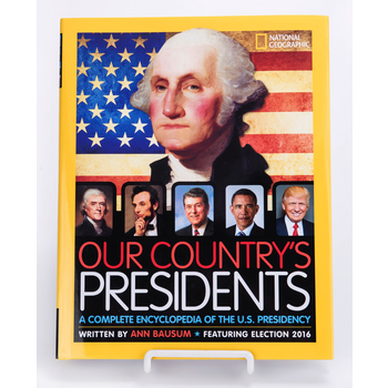 Sale Sale-National Geographic: Our Country's Presidents by Ann Bausum HB