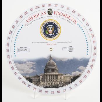 Americana American President Chart Wheel
