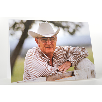 All the Way with LBJ Howdy Y'all LBJ Greeting Card
