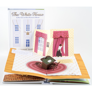 Americana The White House: A Pop-Up of Our Nation's Home by Robert Sabuda HB