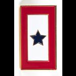 Americana Blue Star Service Flag Lapel Tac Pin